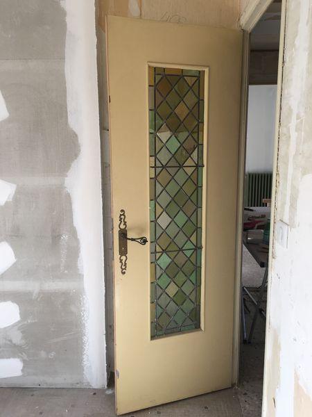 Achetez porte avec vitrail occasion, annonce vente à Saulieu (21 ...