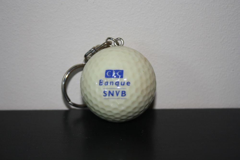 porte cle balle de golf