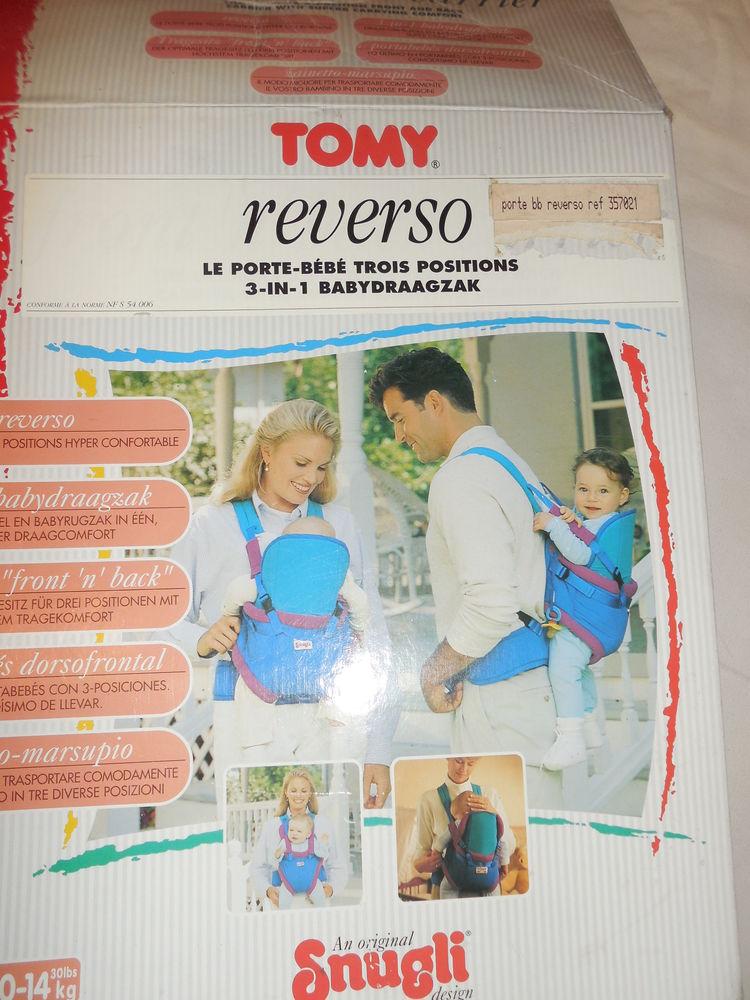 Porte bébé  REVERSO : dorsal ou ventral  TOMY 22 Pontault-Combault (77)
