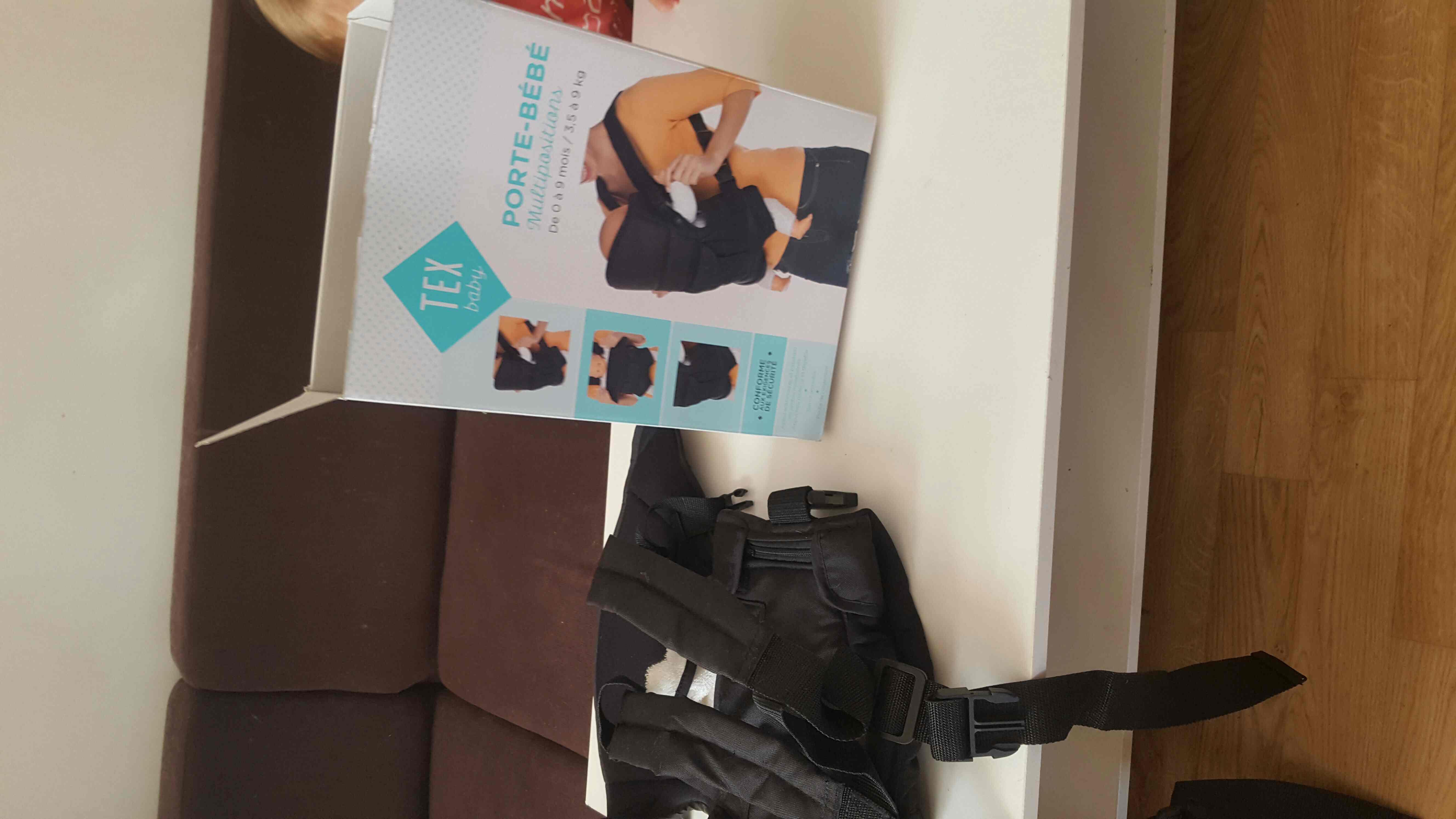 72babafe4d97 Achetez porte bébé tex quasi neuf, annonce vente à Juvisy-sur-Orge ...
