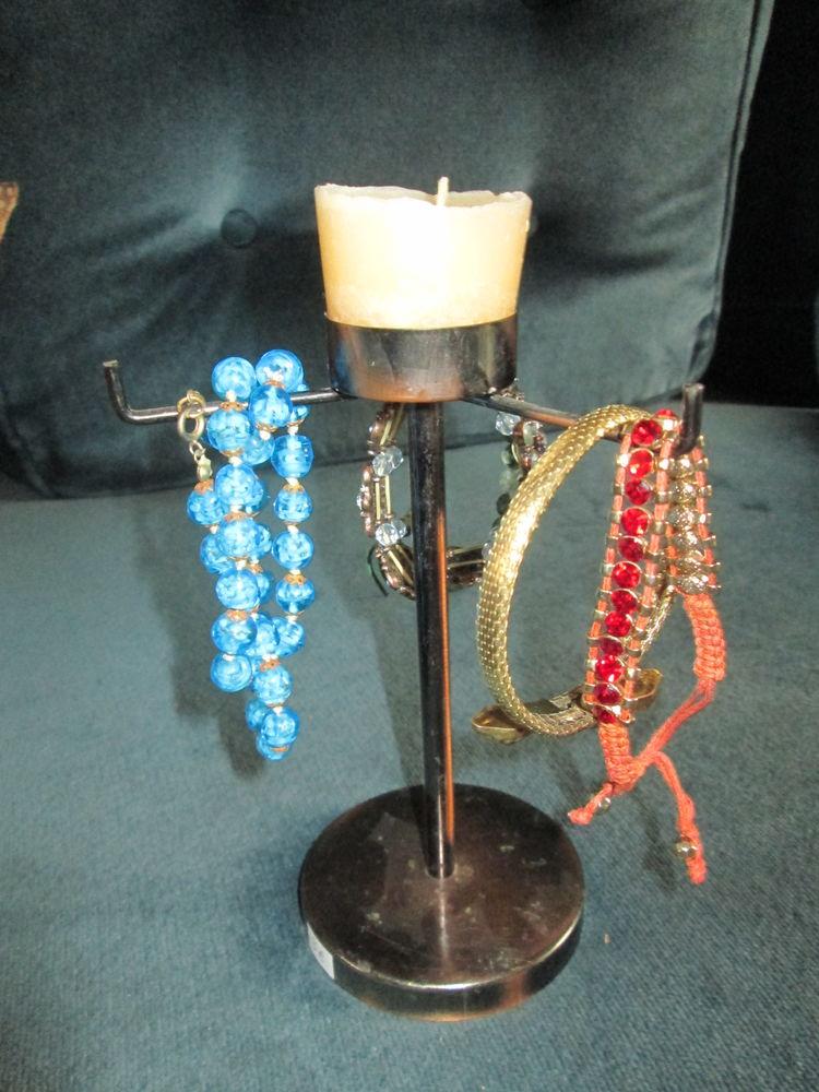 Porte bijoux bougeoir en métal 5 Herblay (95)