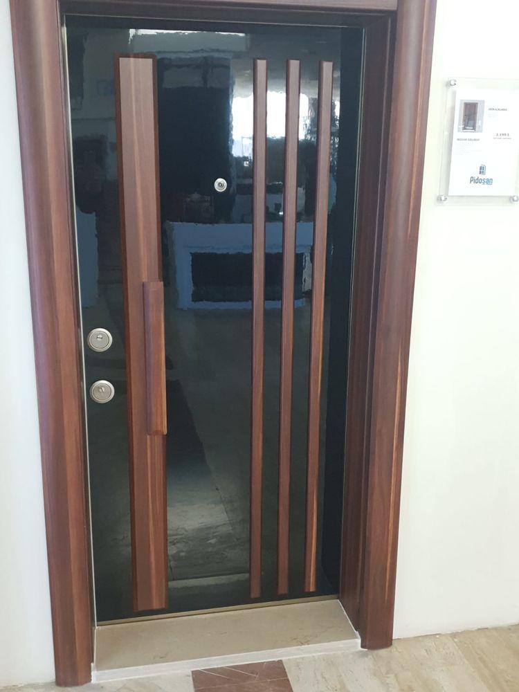 Porte blindée - PVC Bricolage