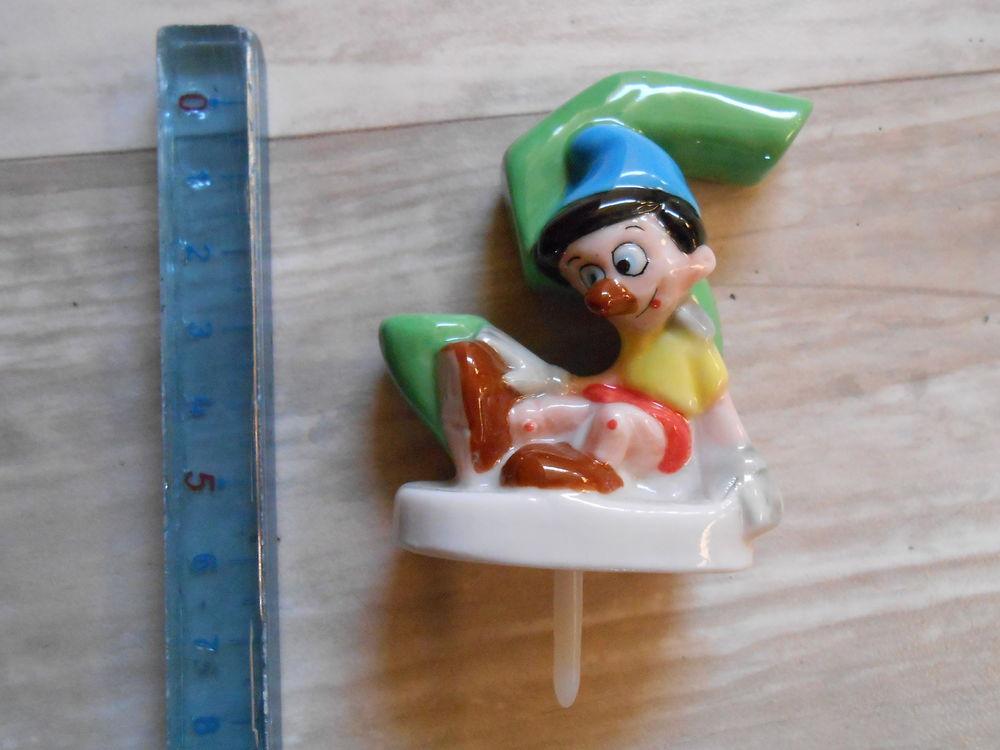 Porte bougie anniversaire Pinocchio 5 ans TBE 5 Aurillac (15)