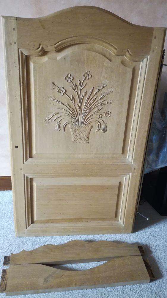 Porte chêne décor Décoration