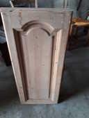 porte en chêne ou orme massif en bois brut 6 Gevigney-et-Mercey (70)