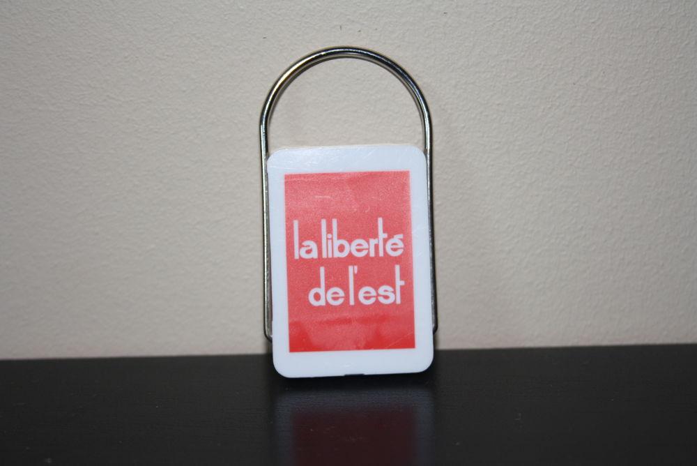 porte clés la liberté de l'est 3 La Verdière (83)