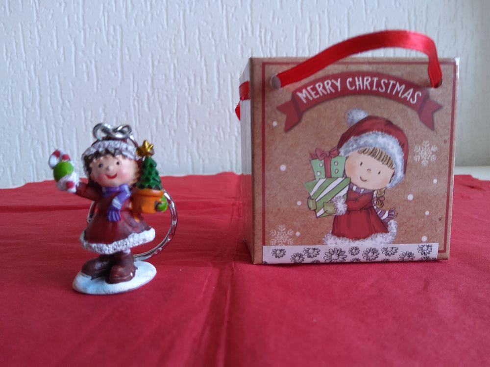 PORTE-CLES  Merry Chrismas  4 Saint-Etienne (42)