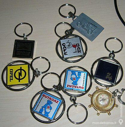 Porte clés métal neufs Jeux / jouets
