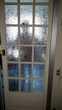 Porte coulissante vitrée avec rail Bricolage