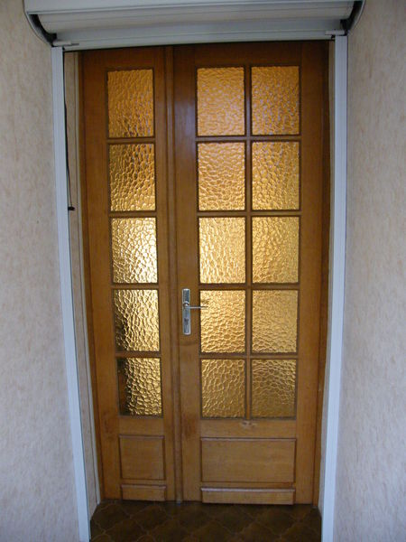 Achetez porte double vitr e occasion annonce vente saint hilaire au temple - Double porte interieure vitree ...