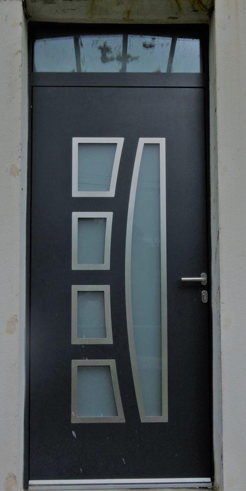 Porte entrée aluminium standard 650 La Verpillière (38)