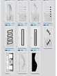 Porte d'entrée -Aluminium- sur mesure / en stock Bricolage
