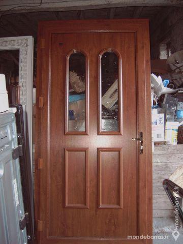 Porte d'entrée bicolore neuve Bricolage