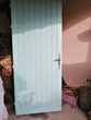 porte d'entrée en chêne Bricolage