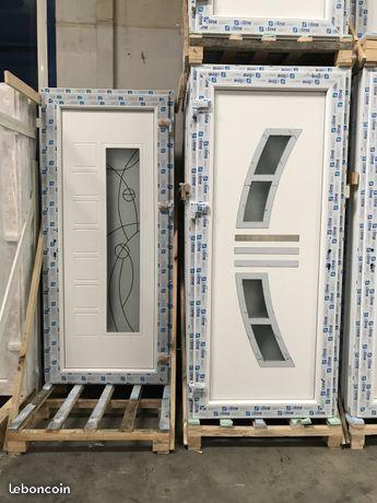 Porte d'entrée - PVC Bricolage