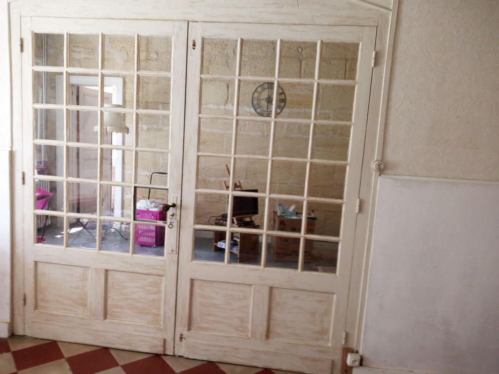 porte-fenêtres, petits carreaux avec cadre. 100 Cénac (33)