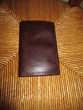 porte-feuilles en cuir marron (ancien permis de conduire) Mérignies (59)