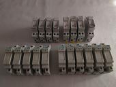 Porte-fusibles modulaires: 10, 16, 20, 32 Ampères NEUFS .    4 Rennes (35)