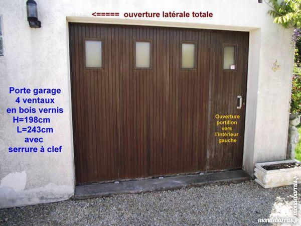 portes de garage occasion en poitou charentes annonces achat et vente de portes de garage. Black Bedroom Furniture Sets. Home Design Ideas