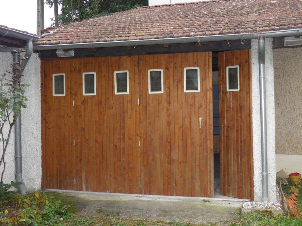 Achetez Porte Garage Bois Occasion Annonce Vente à SaintPriest - Porte garage bois