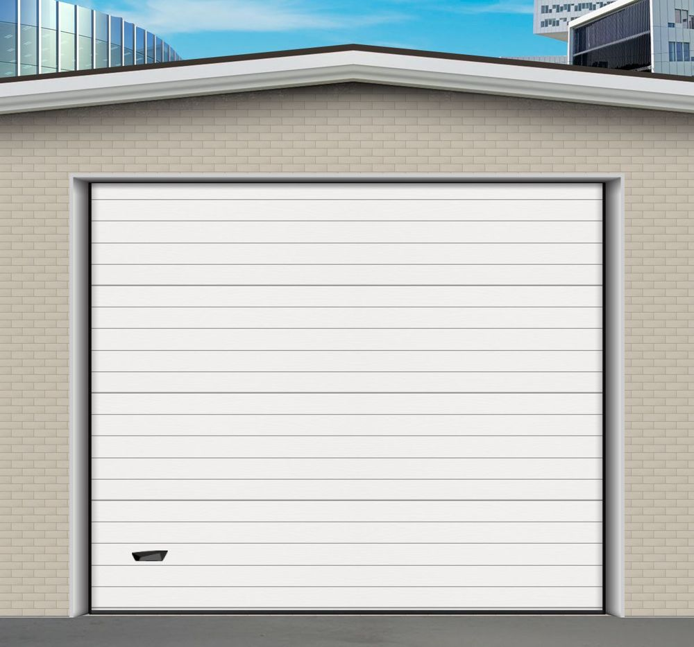 Porte de garage sectionnelle isolante neuve 999 Thiverval-Grignon (78)