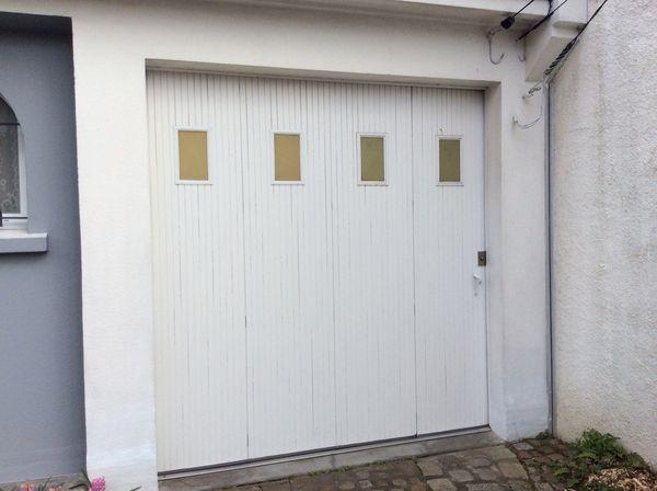 Portes de garage occasion dans le pays de la loire for Porte de garage 2 40 x 2 15