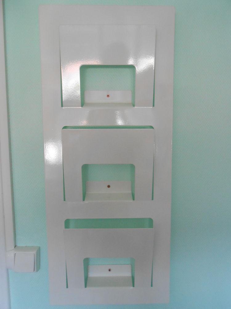 Porte journaux revues blanc IKEA  5 Aurillac (15)