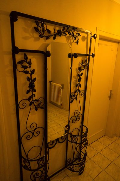Agreable PORTE MANTEAU MURAL VINTAGE FER FORGE Meubles