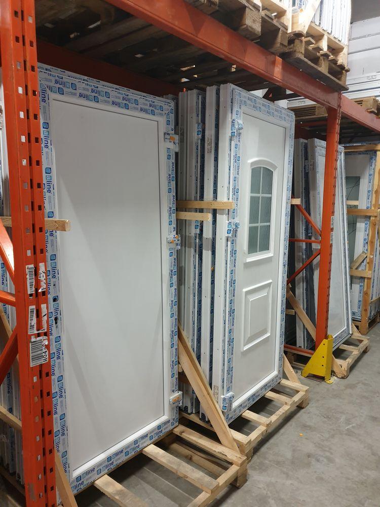 Porte service - PVC Bricolage