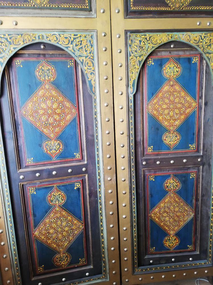 Porte traditionnelle Marocaine  2000 Montreuil (93)