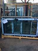 Porte vitrée + fixe haute gamme 990 Vénissieux (69)