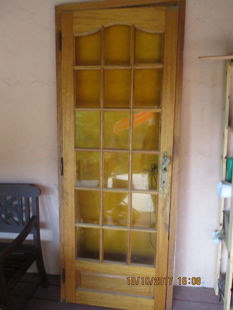 porte vitrée Bricolage