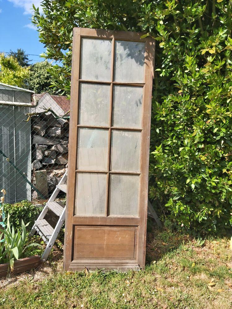 Porte vitrée 0 Traînel (10)