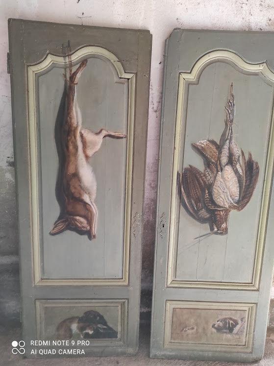 portes d'armoire anciennes (début 19e) le lot ou pa 0 Leugny (89)