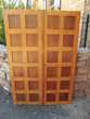 Portes de buffet à petits bois et en chêne