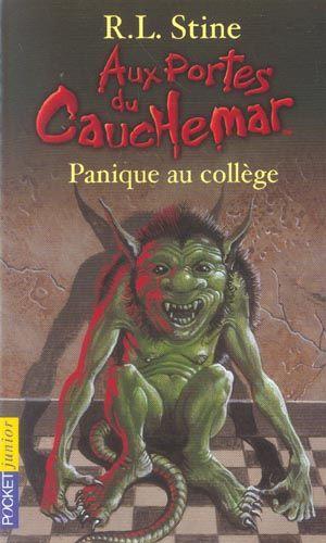 Aux portes du cauchemar t.11 ; panique au collège 1 Wancourt (62)