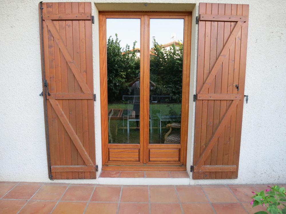 portes fenêtres vitrées doubles en bois  500 La Teste-de-Buch (33)