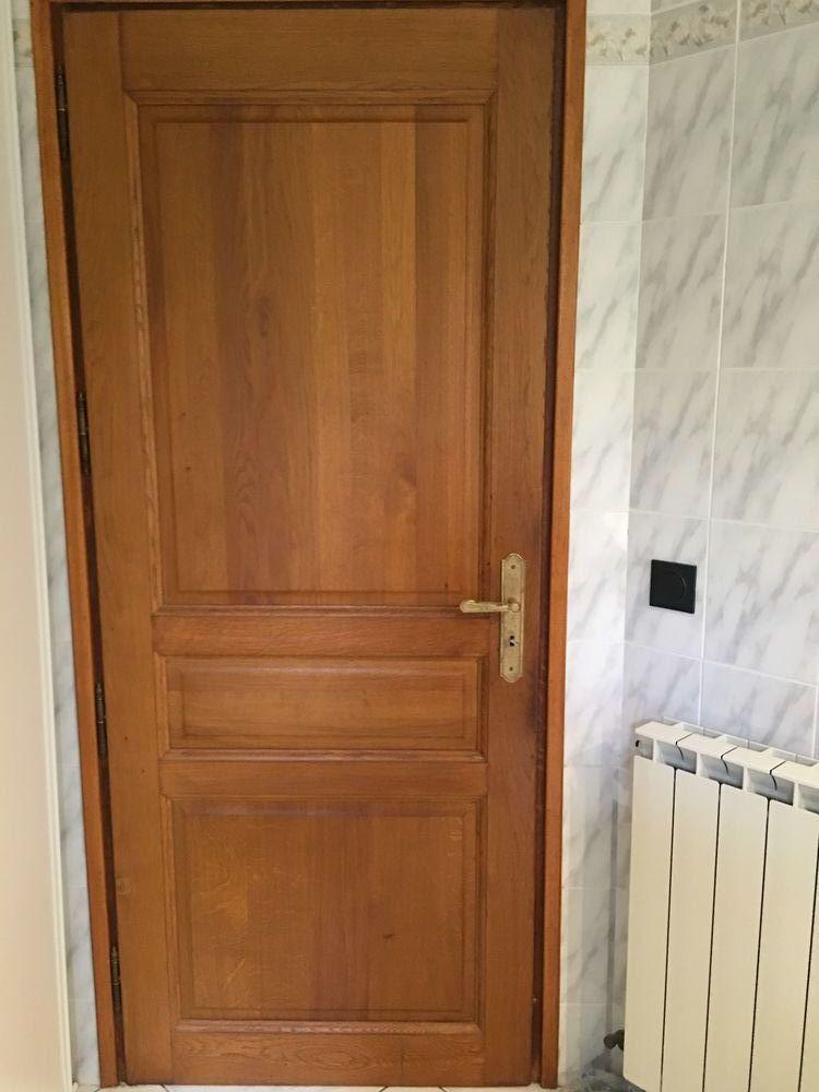 Portes d'intérieur en chêne massif, TBE 25 Perpignan (66)