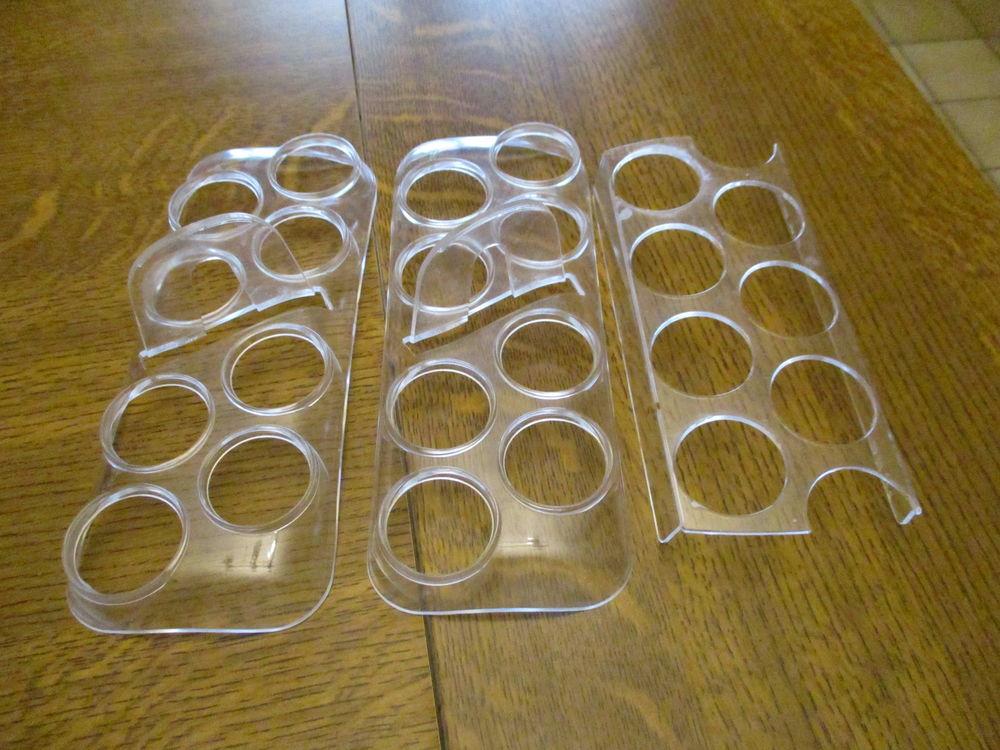 lot de 3 portes oeufs en plastique dur neufs 0 Mérignies (59)