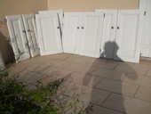 lot de 8 portes de placards de cuisine ou de salle de bains 35 Saint-Christol-lès-Alès (30)