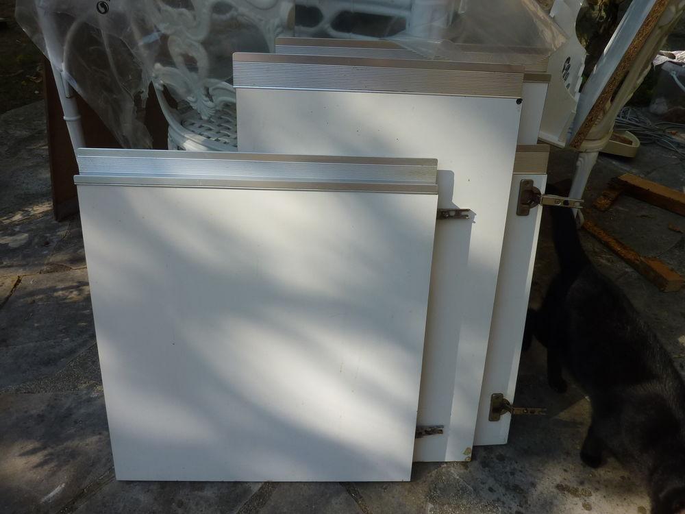 Portes pour meubles de cuisine en stratifié blanc 5 Plaisir (78)