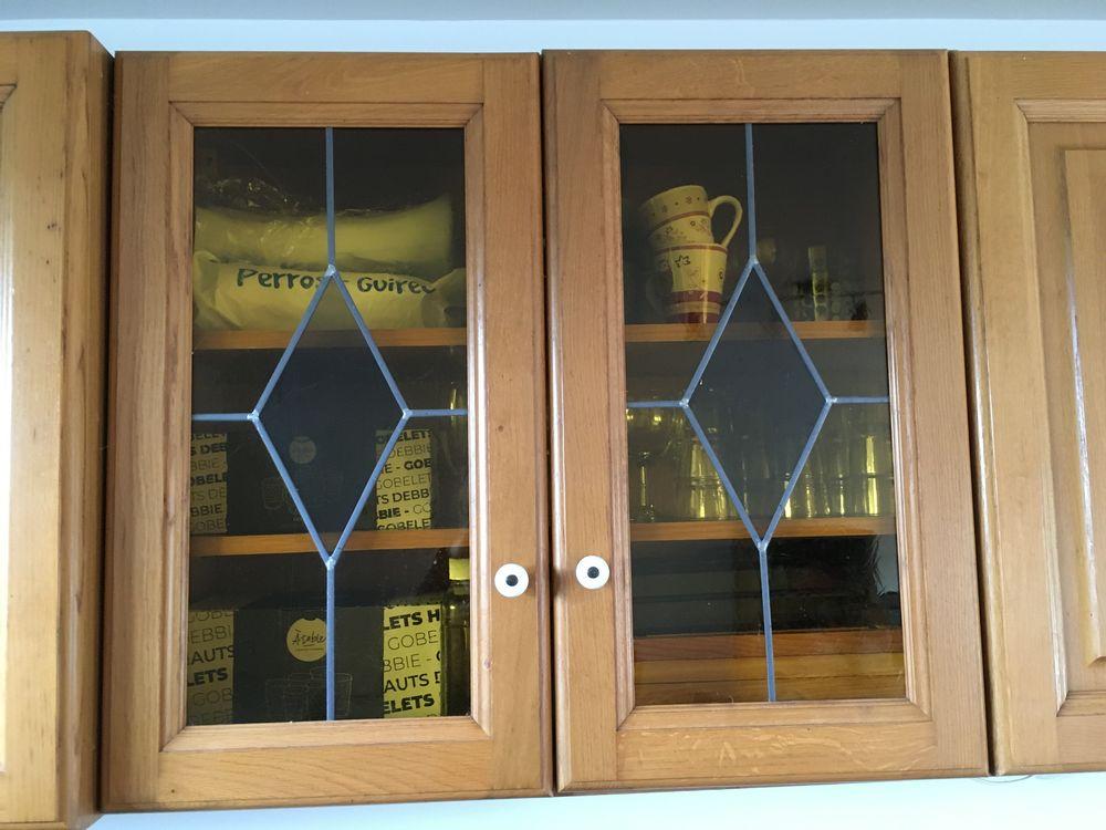 Portes et tiroirs de cuisine en chêne 112 Coatréven (22)