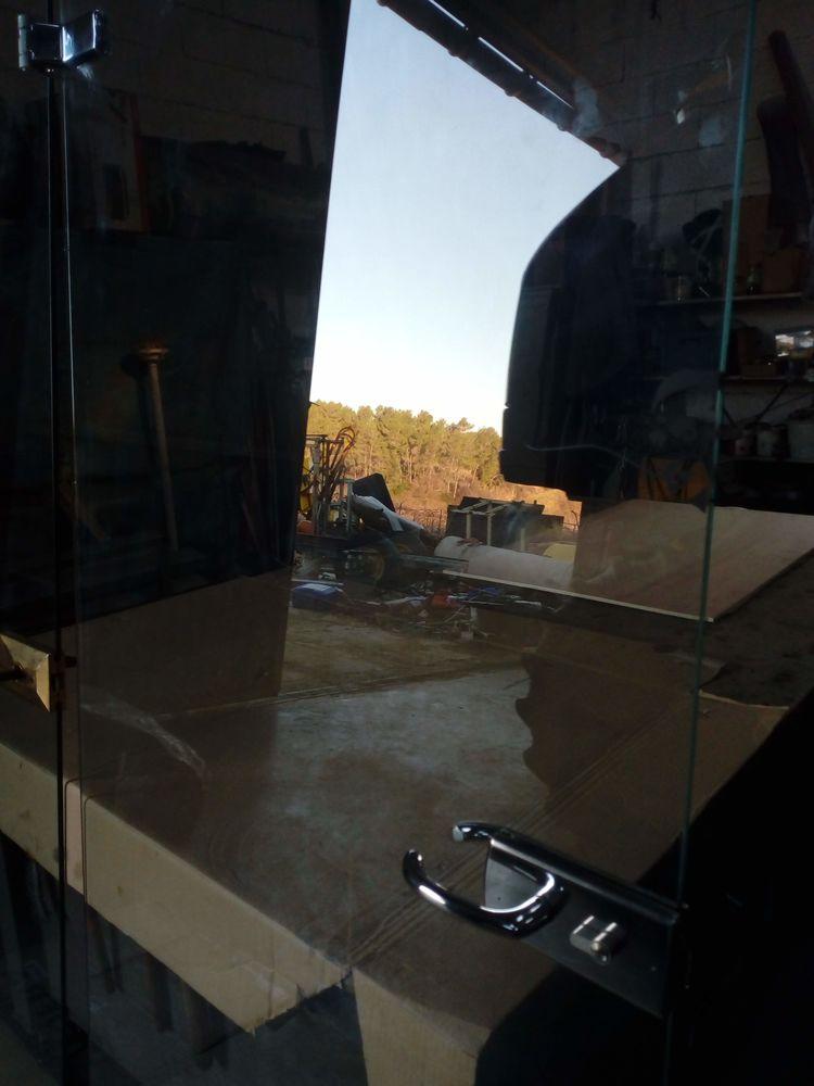 2 portes en verre trempé 95 Assas (34)