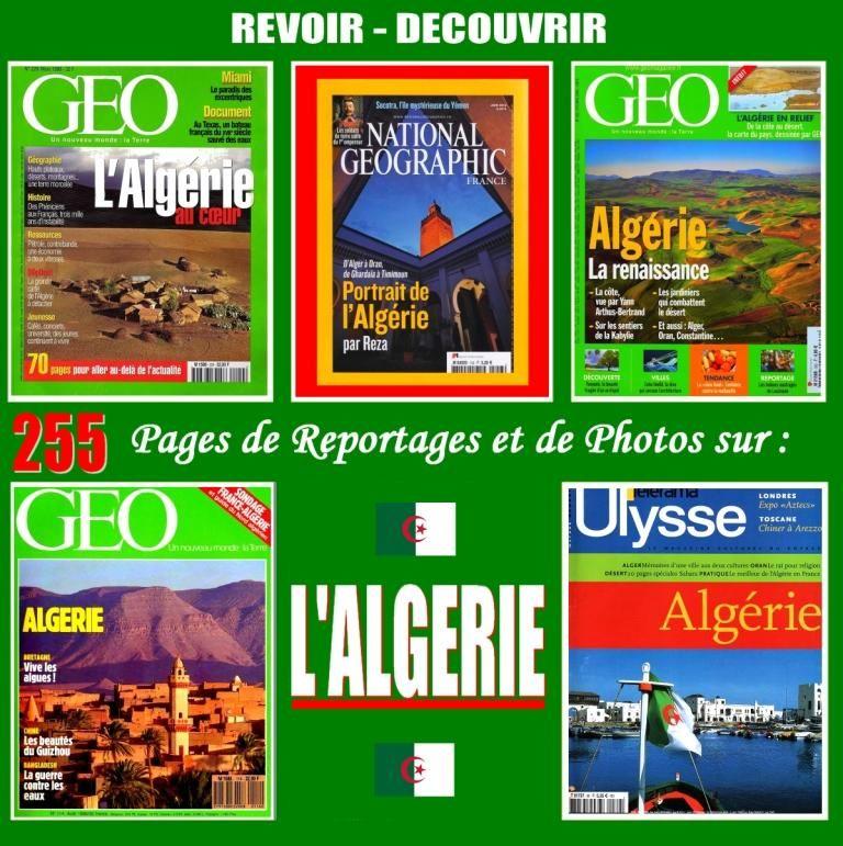 PORTRAIT DE L'ALGÉRIE - géo  - ALGER / prixportcompris 17 Lille (59)