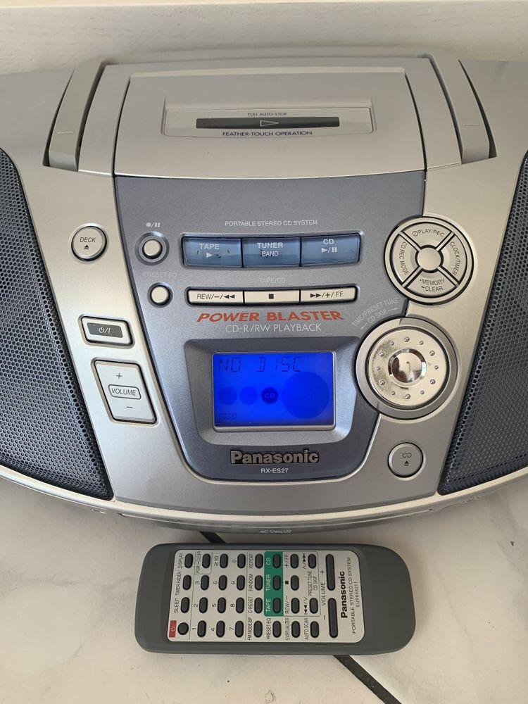 Poste Panasonic RX-ES27 avec télécommande  0 Liverdy-en-Brie (77)