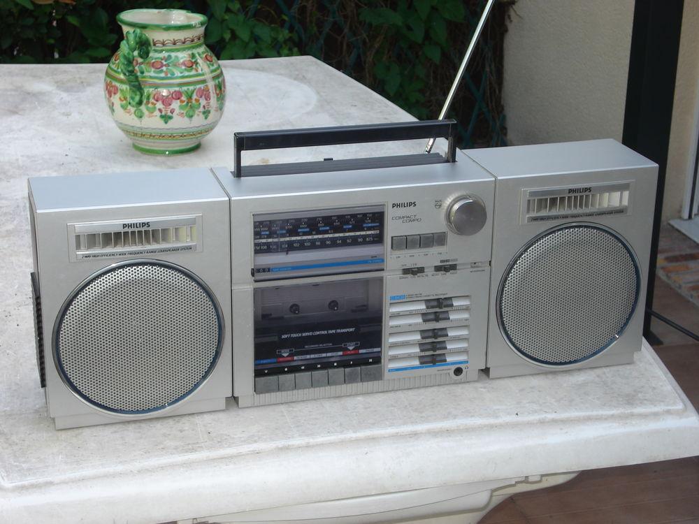Poste Radio cassette GhettoBlaster PHILIPS D8438 Audio et hifi