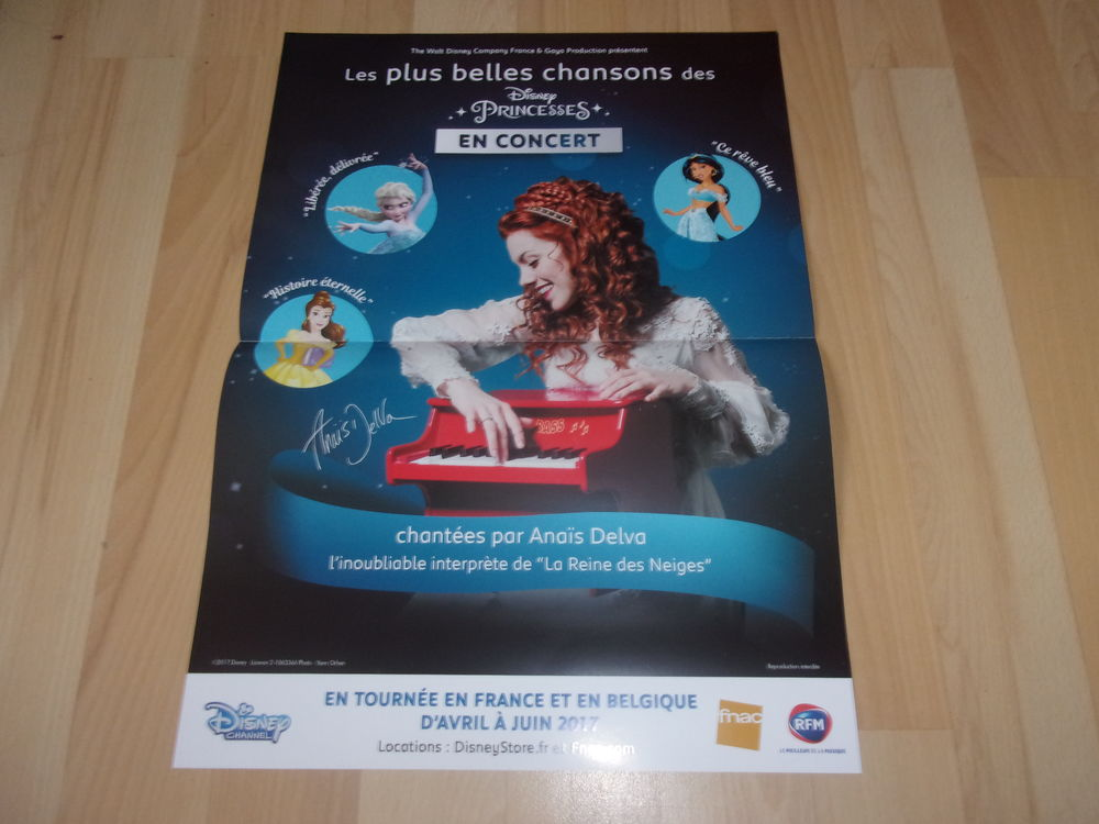 Poster d'Anaïs Delva (Neuf) 12 Ardoix (07)