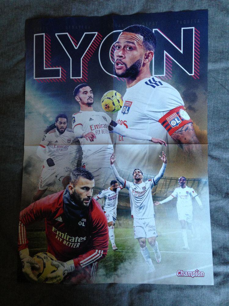 Poster Equipe de football Lyon / Harry Kane 2 Roncq (59)