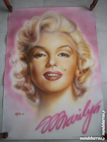 POSTER MARYLIN MONROE 5 Poitiers (86)