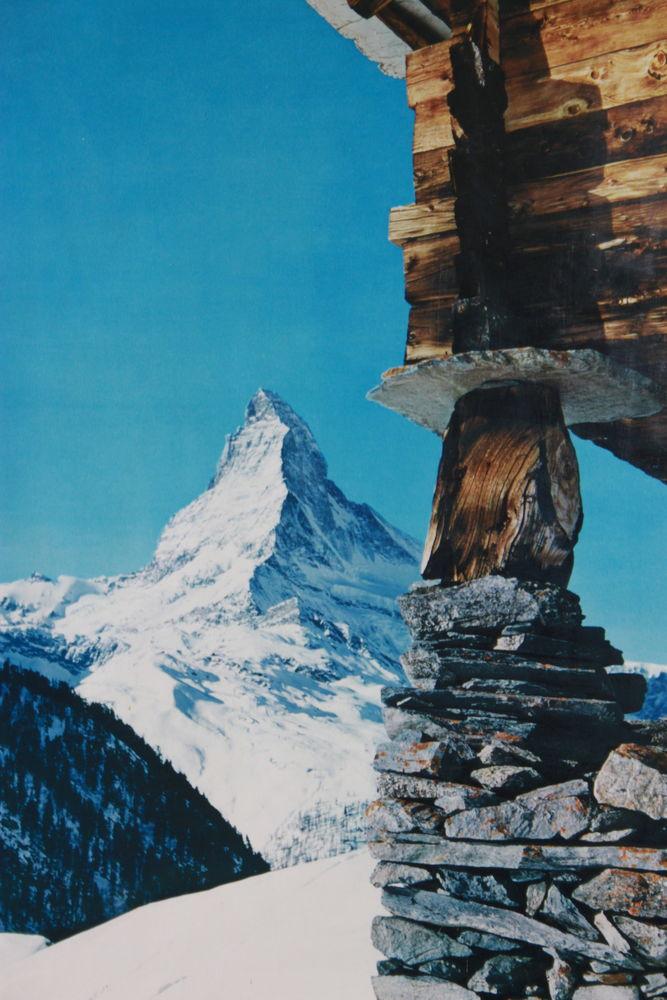 Poster photo Mont Servin  15 Montigny-Lencoup (77)